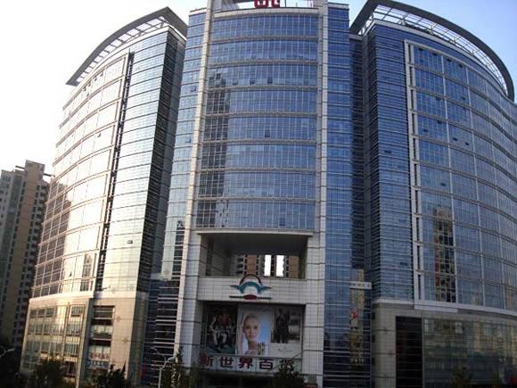 武汉新世界中心地下停车场地坪